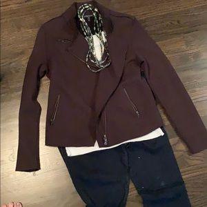 Eileen fisher brown jacket